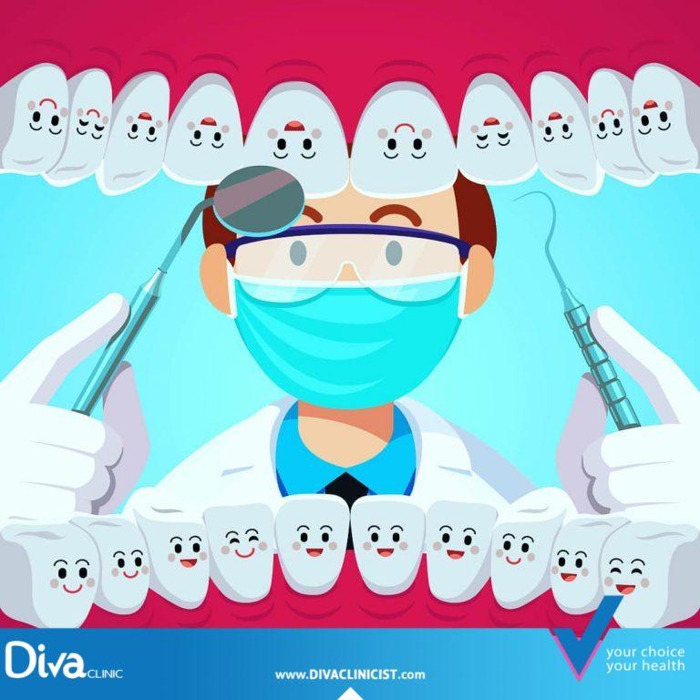 زيارة طبيب الأسنان